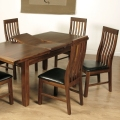 Kilkenny Dining / Living Room Furniture (Dark Acacia)
