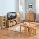 Valewood City Oak Dining / Living Room Furniture