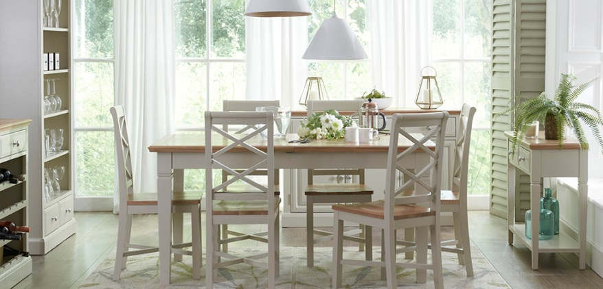 Eaton Oak Painted Living Dining Furniture