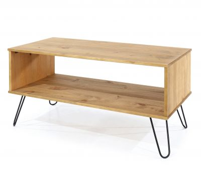 Augusta Pine Open Coffee Table