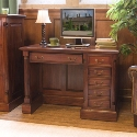 La Roque Single Pedestal Computer Desk
