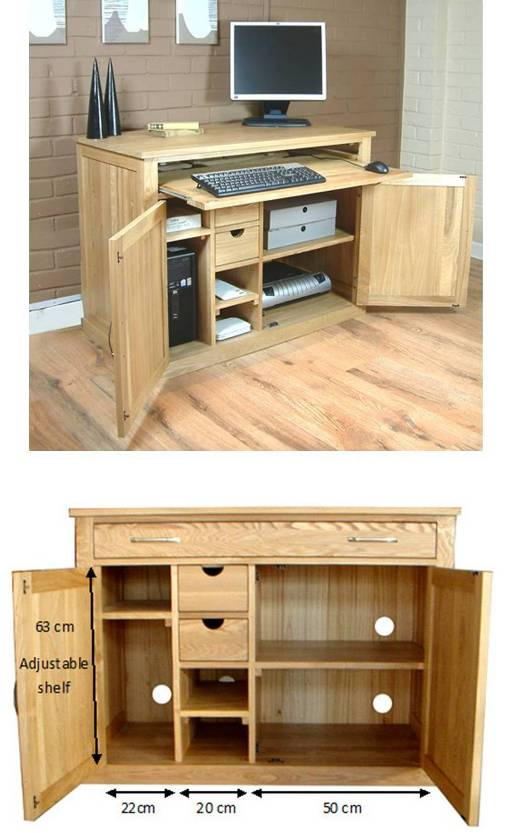 mobel oak hidden home office oak desk mobel oak home office furniture contemporary oak