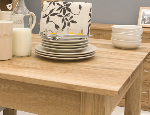 Mobel Oak 1.5 metre Dining Table