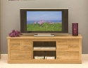 Mobel oak Widescreen Television Cabinet