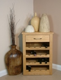 Mobel Oak wine rack