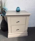 Annecy 2 Drawer Bedside Cabinet (Clearance)