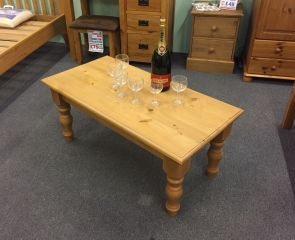 Atlanta Wolsingham Pine Coffee Table (Clearance)