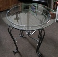Round Glass Table (Clearance)