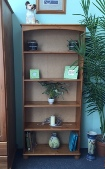 Kingston Pine 4 shelf bookcase (Clearance)