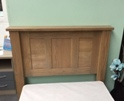 Quercus Como Oak Single Headboard. (Clearance)