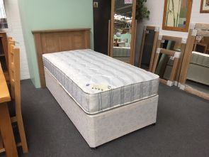 Woburn 3`0 Standard 2 Drawer Divan Base with Spencer Mattress (Clearance)