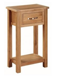 Valewood City Oak Medium Hall Table (Ex-Display)