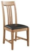 2 x Colorado Oak Dining Chairs