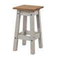 Corona Grey Washed  Kitchen Stool