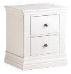 Annecy 2 Drawer Bedside Cabinet