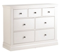Annecy 3+4 Drawer Extra Wide Chest