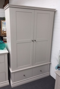 Annecy Double Wardrobe With Drawers (Clearance)