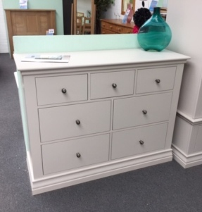 Annecy 3+4 Drawer Extra Wide Chest (Clearance)