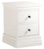 Ambriella 2 Drawer Narrow Bedside
