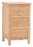 Nimbus 3 Drawer Bedside