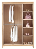 Nimbus Multi Robe Narrow Shelf Pack For 3 Door Robe