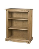 Corona Mexican 2 shelf bookcase