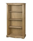 Corona Mexican 3 shelf bookcase