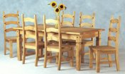 Corona Mexican 6` table & 6 chairs