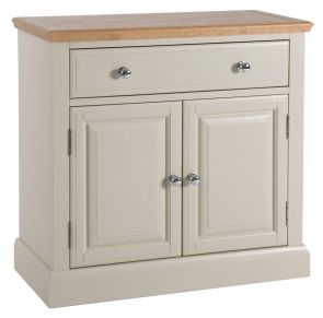 Eaton Oak and Painted Small Sideboard