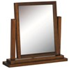 Boston single dressing table mirror