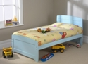 Childrens Rainbow 3' Bed Blue