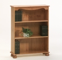 Richmond Pine 2 shelf bookcase