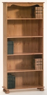 Richmond Pine 4 shelf bookcase