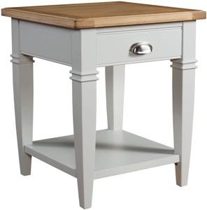 Iowa Painted Lamp Table (Clearance)