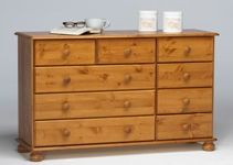 Richmond Pine 3 + 2 + 4 chest of drawers