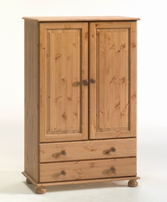 Richmond Pine low combination wardrobe
