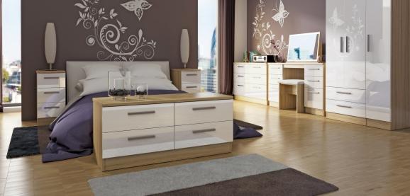 Welcome Knightsbridge Bedroom Furniture High Gloss