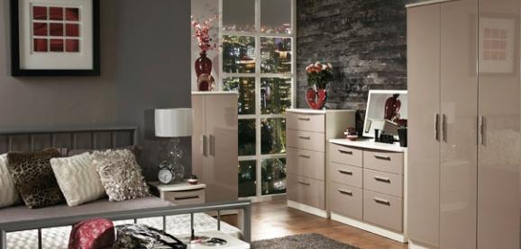 welcome knightsbridge bedroom furniture high gloss. Black Bedroom Furniture Sets. Home Design Ideas