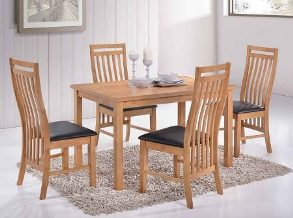 Chertsey Oak Large Dining Set
