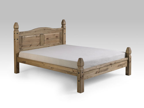 Corona Mexican double low end bed