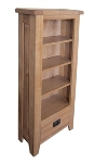 Madrid Rustic Oak CD Cabinet