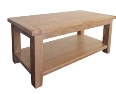 Madrid Rustic Oak Coffee Table