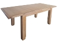 Madrid Rustic Oak Medium Extending Dining Table