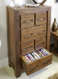Mayan Open DVD / CD Storage Chest