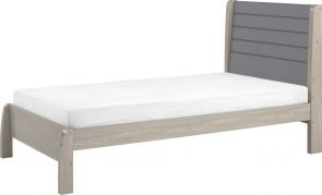 Nevada Grey 3' Single Bed
