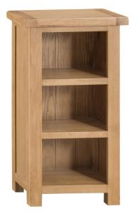Compton Oak Small Narrow Bookcase
