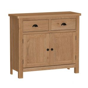 Portland Rustic Oak 2 Door Sideboard