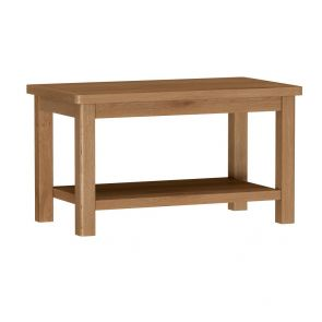 Portland Rustic Oak Coffee Table