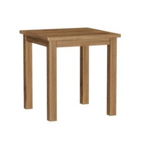 Portland Rustic Oak Square Dining Table