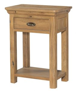 Regal Oak 1 Drawer Console Table